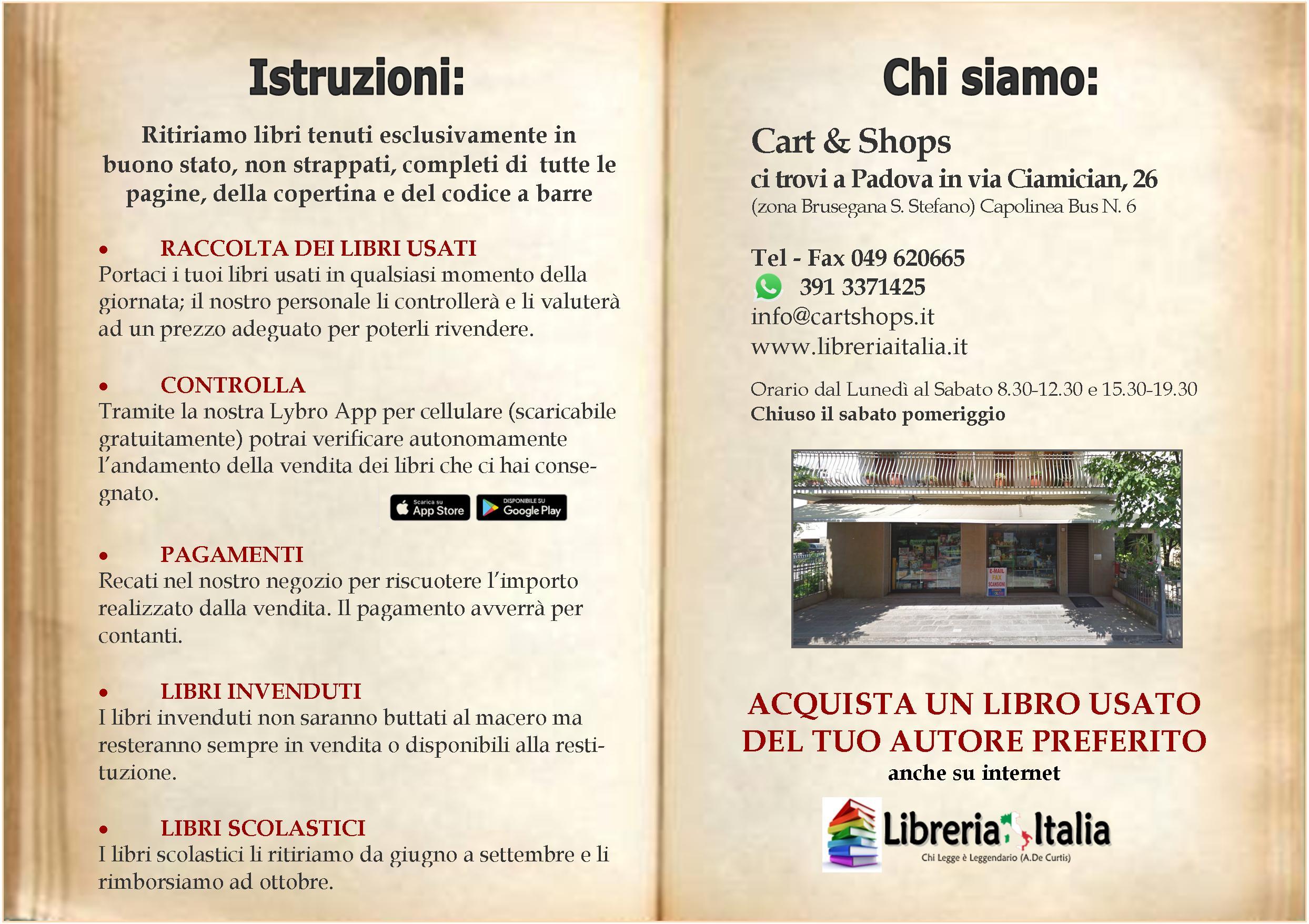 libri usati a Padova